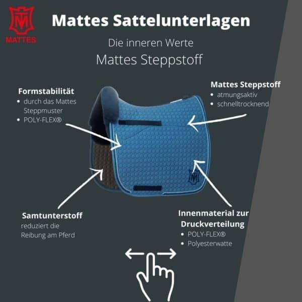 Mattes Schabracke Lammfell