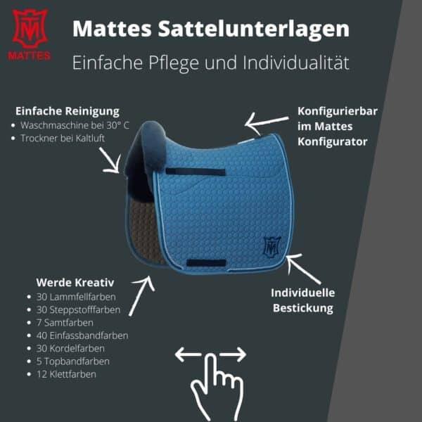 Mattes Sattelunterlagen Konfigurator